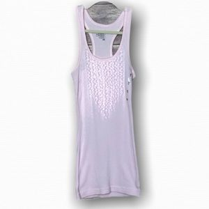 Old Navy Ribbed tank top Light Pink XS